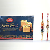 Soan Papdi N 2 Rakhis: Send Rakhi to Denver