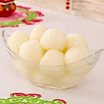 Spongy Haldiram Rasgulla Tin: Sweets to Boston