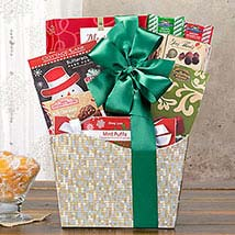 Sweet Holiday Sampler Gift Basket: Gifts for Anniversary in USA
