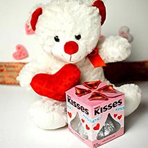 Teddy With Kisses: Valentines Day Gifts Charlotte