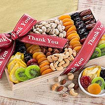Thank You - Dried Fruit and Nut Collection: Womens Day Gifts to USA
