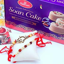 Two Rakhis N Soan Cakes: Send Rakhi to Cincinnati
