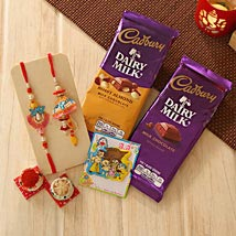 Unforgettable Rakhi Family hamper: Rakhi to Portland