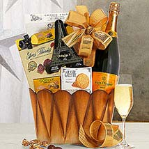 Veuve Clicquot Gift Basket: Birthday Gifts to USA