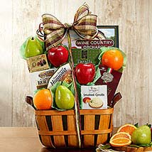 Wine Country Fruit and Favorites: Send Wedding Gifts to USA