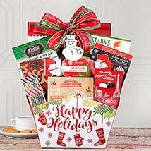 Winter Wonder Gift Basket: Send Christmas Gifts to USA